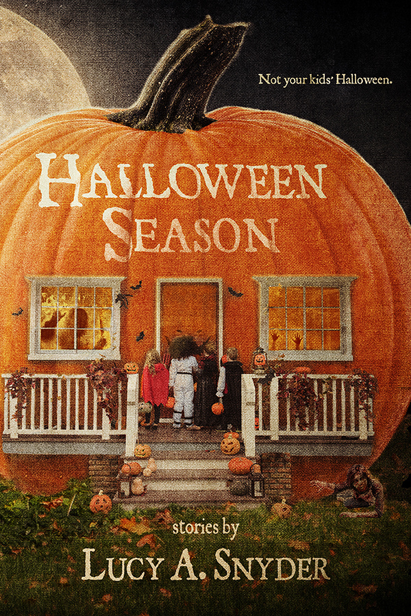 Halloween Season By Lucy A Snyder, Cover by Lynne Hansen Art