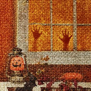 Halloween Season Hands Detail
