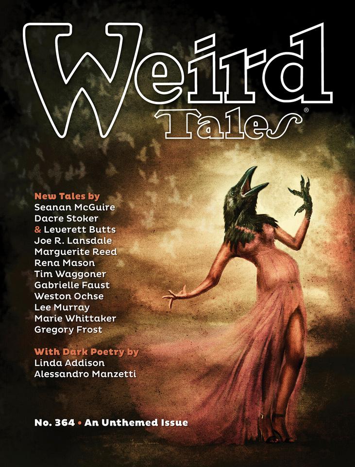 Weird Tales Magazine w/ Cover Art by Lynne Hansen